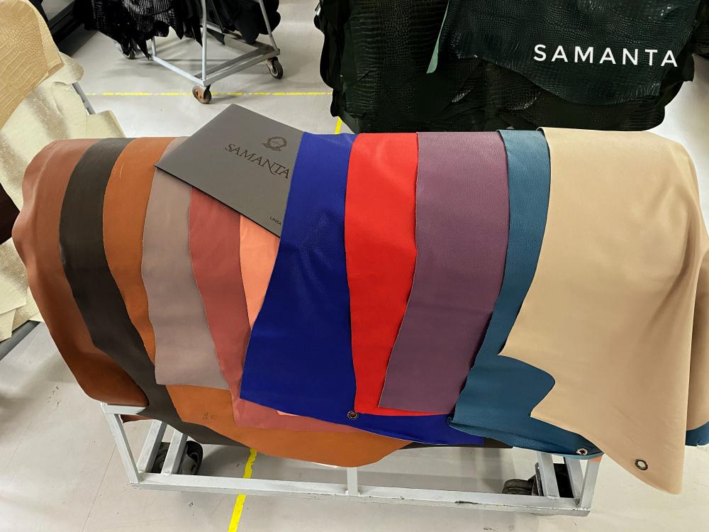 luxury leather, samanta tannery